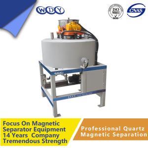 China Electro Dry Magnetic Separator Metal Scrap 50000gs 440v Magnetic Drum Separator wholesale