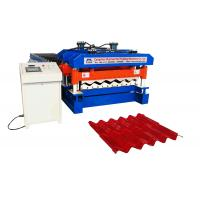 China Material Width 1220 mm Rib 40 MM  Glazed Tile Roll Forming Machine Use PPGI And GI on sale