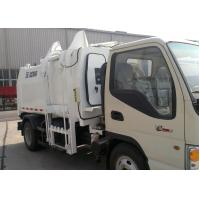 China Special Purpose Vehicles Side Loader Garbage Truck 7300kg with 5000L Carriage Volume wholesale