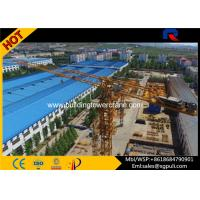 China Widely Climbing Topless Tower Crane Load Capacity 4 Ton For Building Construction wholesale
