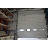China Safety Automatic Overhead Door Electric Vertical Lift Sectional Door Panels on sale