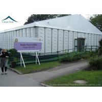 China ABS Sidewall 20mx40m Event Gazebo Party Tent With Round Tables Chairs wholesale