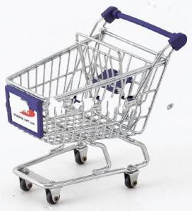China Multi-function Mini Shopping Cart/Chrome Plated Mini Cart/Gift Cart on sale