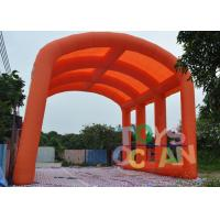 Quality Orange Inflatable Customized Oxford Tent Large Arch tent For Ourdoor Event for sale