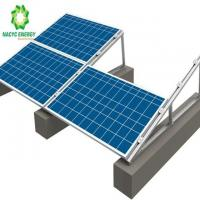 China Solar Panel Structure Flat Roof Kit Solar Roof Warehouse High Corrosion Resistance wholesale