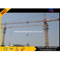 China 630KN.M  Lifting Moment Building Construction Crane Capacity 5 Ton Loading wholesale