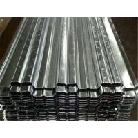 Quality Galvanized Metal Floor Decking Sheets 38 - 113 Mm Wave Height 60 - 275g/M2 Zinc Weight for sale