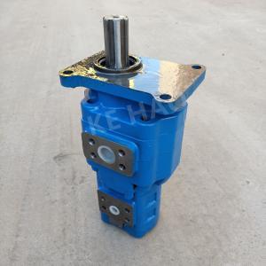 China Customized High Pressure Hydraulic Gear Pump / Vertical 2 Stage Gear Pump on sale