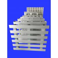 China Reinforced Aluminium Steel Pallet For Factory / Warehouse Storage wholesale