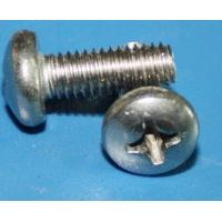 China SUS321 screw 1.4547 TP321 slotted round head screw wholesale