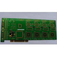 China 6 layer Rigid-Flex FR4+PI, 1.6mm immersion gold PCB board wirh green soldermask wholesale