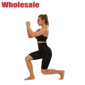 China Hook Eye Waist Trainer Leggings Blue Spalding Body Shaping Yoga Pants wholesale