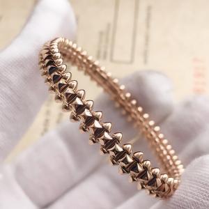 China 8mm Width B6065217 Clash De Cartier Bracelet 18K Pink Gold wholesale