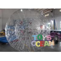 Quality Customized PVC Vinyl Tarpaulin Inflatable Walking Ball / Soccer Zorb Ball For for sale