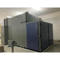 China 19m³ Double Door Aging Test Chamber Humidity Chamber With Open φ100mm Hole on sale