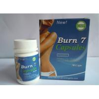 China Herbal Burn 7 Natural Slimming Pills Women fat burners Burn7 100% Original wholesale