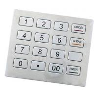 Kiosk keypad Support Triple DES Algorithm Kiosk Metal Keyboard