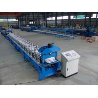 China Automatic Standing Seam Profile Roof Roll Forming Machine 16 Forming Stations wholesale