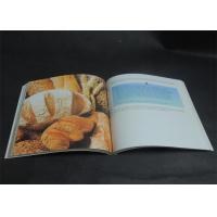 China Eco-friendly Bright coloured Cookbook Printing services , Recipe Book Printing wholesale