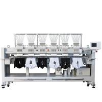 China 12 15 Needles 6 Head Embroidery Machine High Speed T Shirt Hat Embroidery Machine wholesale