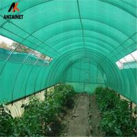 China Warp Knitted Black Agriculture Shade Net Custom UV Stabilzied 50gsm wholesale
