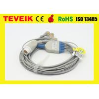 Buy cheap Reusable HP M1736 Round 8pin 5 leads ECG cable For Patient Monitor from wholesalers