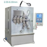 China 2.00 - 6.00mm Computerised CNC Spring Making Machine / Equipment Five Axis wholesale