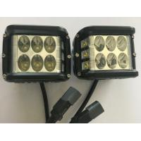 """Quality 45W 4.5"""" Square Automotive Led Driving Lights , 6500k Offroad Truck Work Lights for sale"""
