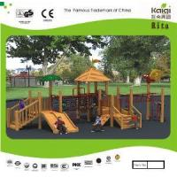 China Park Wooden Playground (KQ10155A) wholesale