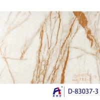 China Durbale Marble Grain Pvc Film Roll Suitable Wall Panel Convenient Construction wholesale