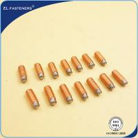 Quality DA - RD , DA - PD Drawn Arc Weld Studs Zinc Plated / Copper Plated Finish for sale