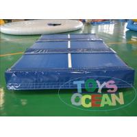 Quality Customized Exercise Inflatable Gym Mat Air Tumble Track For Outdoor Sports for sale