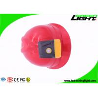 Buy cheap Single Charger Mining Cap Lights , Water / Explosion Proof Miners Cap Lamp from wholesalers