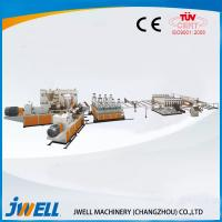 China Jwell PVC semi- skining WPC Foam Board extrusion line on sale