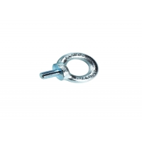 China 410 Stainless Steel Lifting Screw Eye Bolt , M10 Ni-Plated Screw Nut Bolt on sale