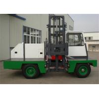 China Airport 4 Ton Solid Tyre Side Loading Forklift Truck With Electric Engine wholesale