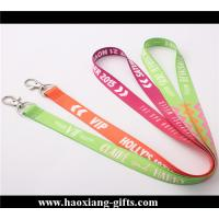 Quality Cheap Custom colorful LOGO Promotional Polyester Lanyards with your size for sale