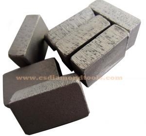 China granite segments, diamond segments for granite on sale