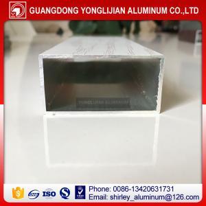Buy cheap Powder coated wood grain aluminum rectangular tubes from China,aluminum square tube sizes from wholesalers