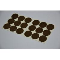 Quality White Sticky Adhesive Hook And Loop Dots For Transparent Release Paper for sale