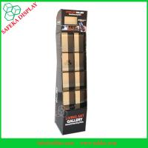 China Paper Material cardboard lcd display wholesale