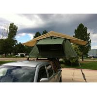 China Aluminum Pole 4 Man Roof Top Tent , Kukenam Truck Mounted Tent Anti UV wholesale