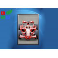 China Ceiling Hanging LED Snap Frame Light Box A0 A1 A2 Size For Poster Display wholesale
