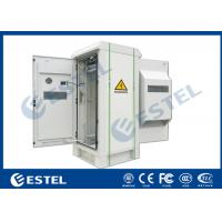 """China IP55 Outdoor Telecom Cabinet with Front Door and Rear Door,  Anti Corrosion Powder Coating, 19"""" Rack, wholesale"""