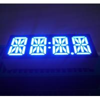 "China Low Power Ultra Blue 0.47"" 4 Digit Led 14 Segment Display Common Anode  For STB wholesale"