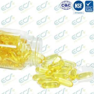 Natural Origin Vitamin E Oil Pills , Vitamin E Softgel IP Certificated Soybean Source