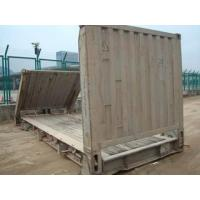 China 33 Cbm Dry Used Flat Rack Containers Dimensions 5.90m* 2.35m*2.39m wholesale