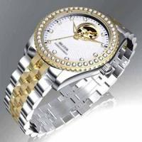China Unique Crystal Mechanical Watch on sale