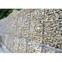China Outside Construction Rock Gabion Baskets For Rock Retaining Walls wholesale