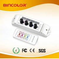 China DC12V 4 channel led light rgbw controller with RF remote on sale
